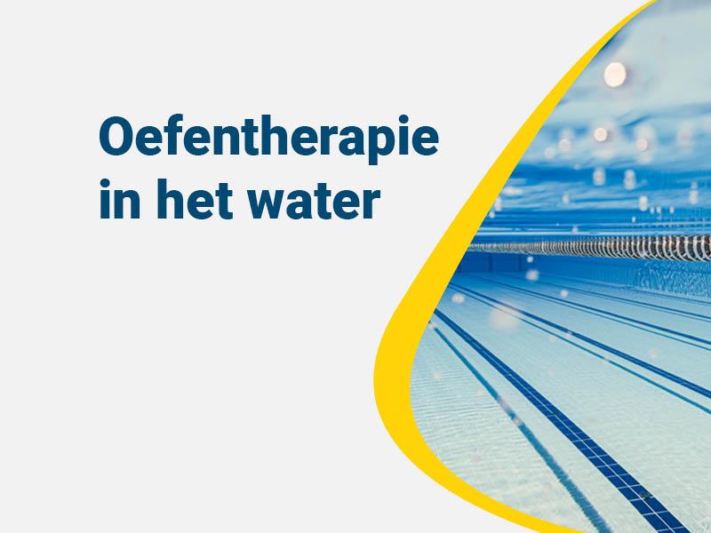 Oefentherapie in het water